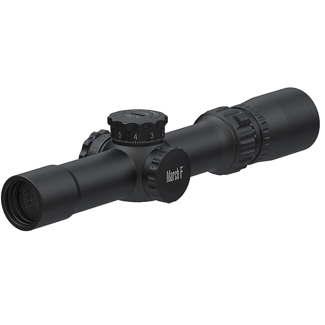 March F Tactical 1-8x24 FMC-1 Reticle 0.1MIL FFP Riflescope D8V24FML
