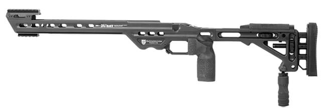 Masterpiece Arms BA Chassis Rem700 LA LH Black