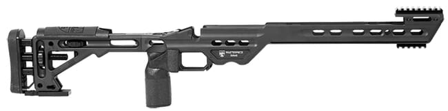 Masterpiece Arms Remington Long Action Right Hand Black BA Chassis