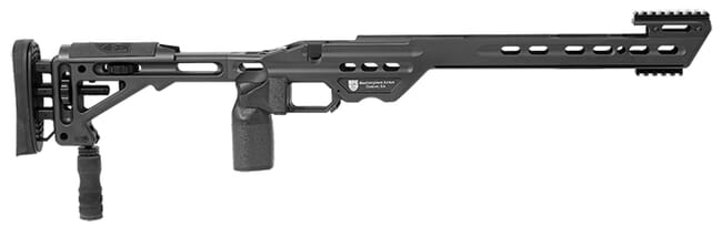 Masterpiece Arms BA Chassis Rem700 SA RH Black