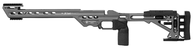 Masterpiece Arms Howa  Short Action Left Hand Black BA Chassis