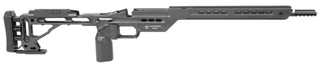 Masterpiece Arms Remington Short Action Right Hand Black Hybrid Chassis