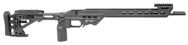 Masterpiece Arms Tikka  Short Action Right Hand Black Competition Chassis