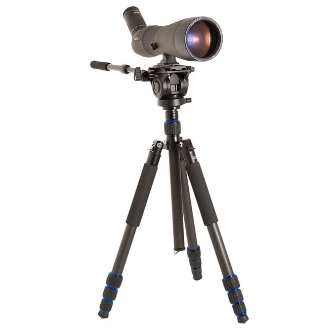 Meopta MeoPro HD80 Angled Spotting Scope, Carbon Fiber Tripod Kit, w/20x-60x zoom 653510