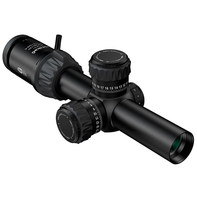 Meopta Optika6 1-6x24 Illuminated MRAD 30mm FFP Riflescope 653558