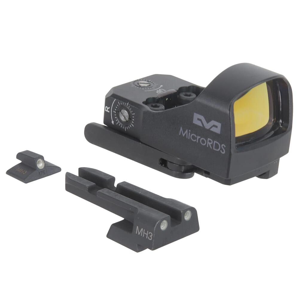 Meprolight microRDS IWI Jericho (Except Jericho II/Enhanced) Red Dot Sight Full Kit w/Backup Night Sight Set & QD Adapter 88070506