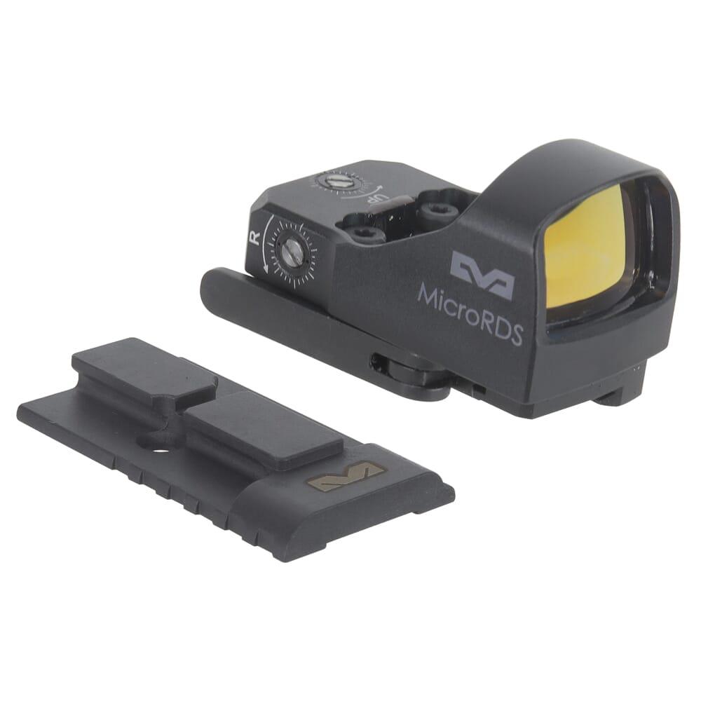 Meprolight microRDS Glock MOS Red Dot Sight Optics Ready Kit w/QD Adapter Plate 88070520