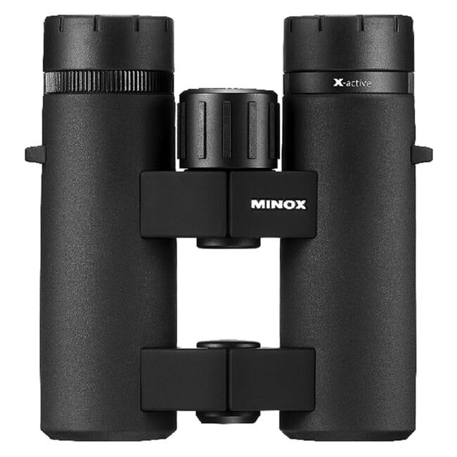 Minox X-Active 8 x 33 Binoculars with Comfort Bridge Housing 10016