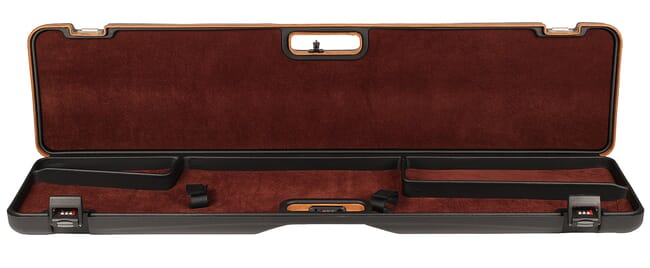 Negrini Scoped Bolt AcMon Rifle Case Black/Brown 1619LUNGA/5517