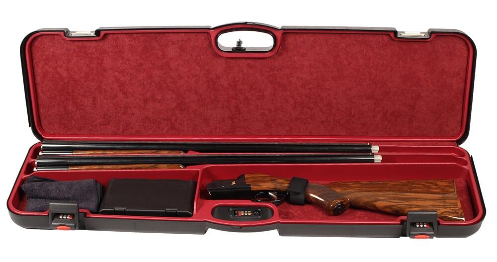 "Negrini 1 Gun 2 Bbl 36"" Polypropylene Case Black/Red 1603IS-2C/4782"