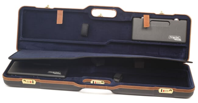 "Negrini Two Gun 36"" Case ABS Black/Blue 1677LX-UNI/5078"