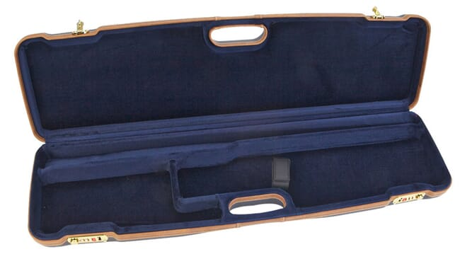 "Negrini One Shotgun 30.5"" Blue Case Blue Interior Tan Trim 1605LX/5138"