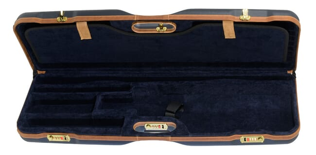 "Negrini Skeet Gun 32.25"" Case Blue/Blue/Tan Trim 1659LX-TS/5161"