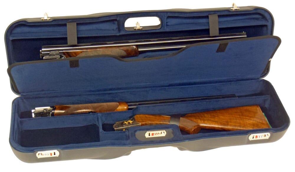 """Negrini One Gun Three Barrels 34-5/8"""" Blue/Blue 1646LR-3C/4732"""