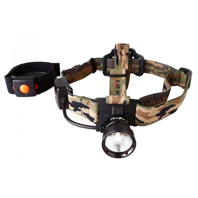 Night Eyes Green Wireless Remote Single Beam Headlamp Kit HL09-G