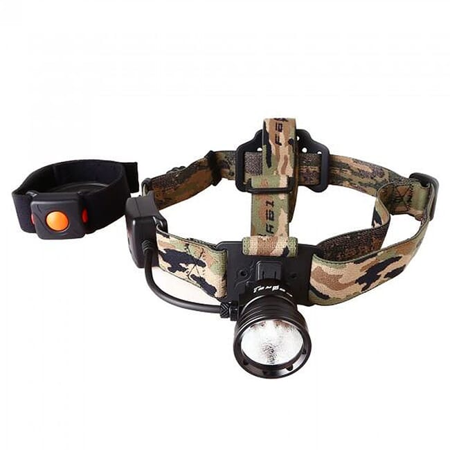 Night Eyes White Wireless Remote Single Beam Headlamp Kit HL09-W