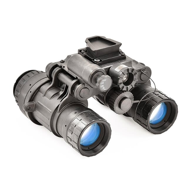 Night Vision Devices BNVD Single Gain w/US Made Gen III P-45 (High FOM) White Phosphor AG NVD-BNVD-SG-WHP