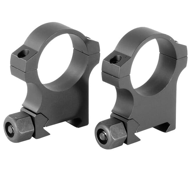 "Nightforce Standard Duty Ring Set - 30mm - 1.25"" High A418 A418"