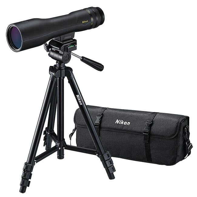 Nikon PROSTAFF 3 16-48x60 Straight Spotting Scope Kit 6983