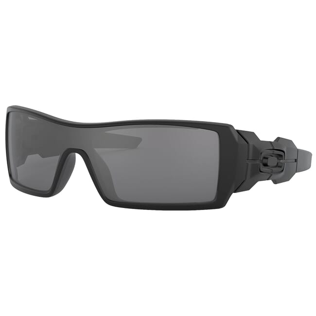 Oakley Oil Rig Matte Black w/Black Iridium Lenses 03-464