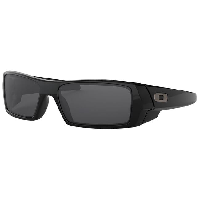Oakley GasCan Polished Black w/Grey Lenses 03-471