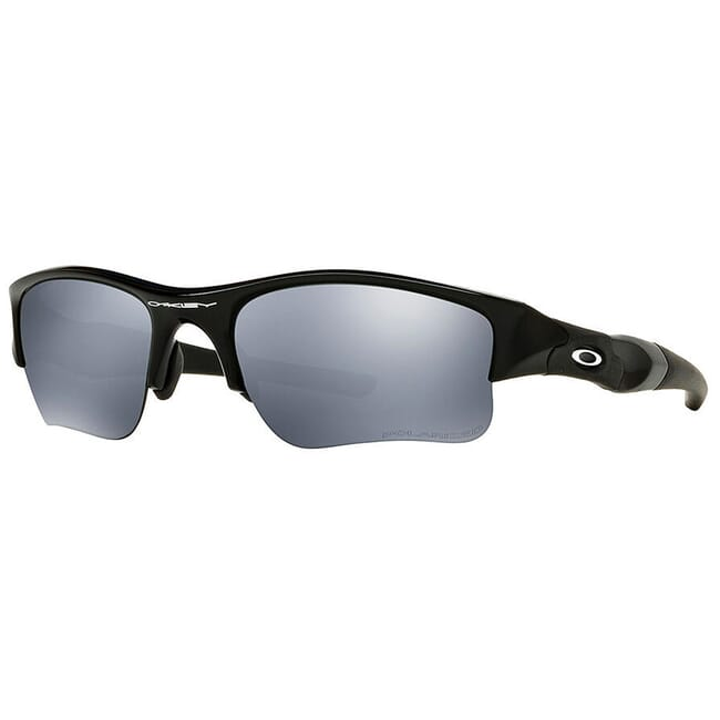 Oakley Flak Jacket Jet Black w/Black Iridium Lenses 03-881