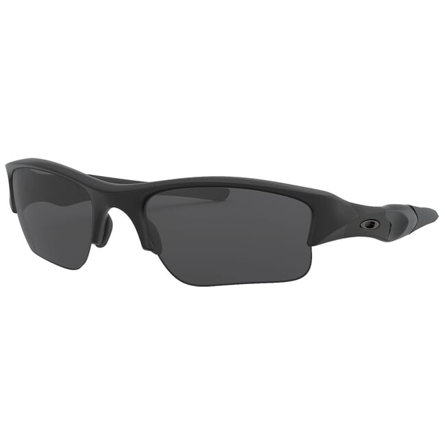 Oakley SI Flak Jacket XLJ Matte Black w/Grey Lenses 11-004