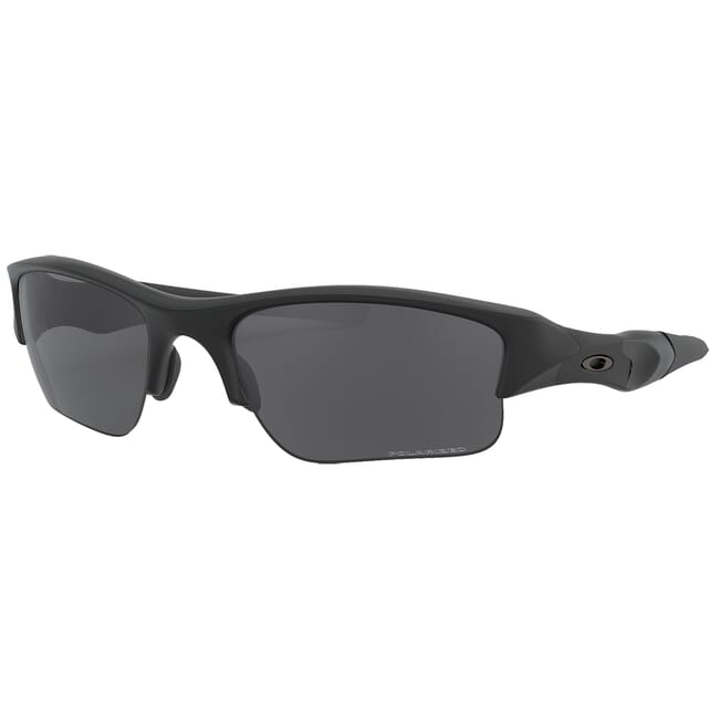 Oakley SI Flak Jacket XLJ Matte Black/ Grey Polarized Lenses 11-435