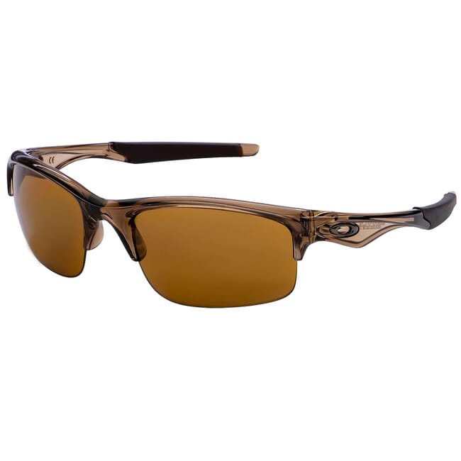 Oakley Flak Jacket XLJ Polished Rootbeer w/Bronze Polarized Lenses 26-231