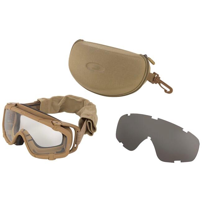 Oakley SI Ballistic Goggle Terrain Tan UPLC (MCEPS Class 2A) 53-114
