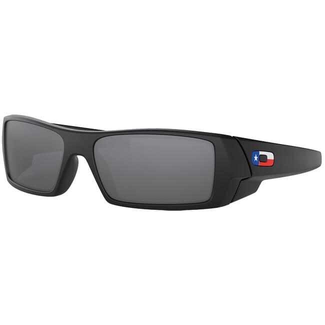 Oakley SI GasCan Matte Black Texas w/Black Iridium Lenses OO9014-4060