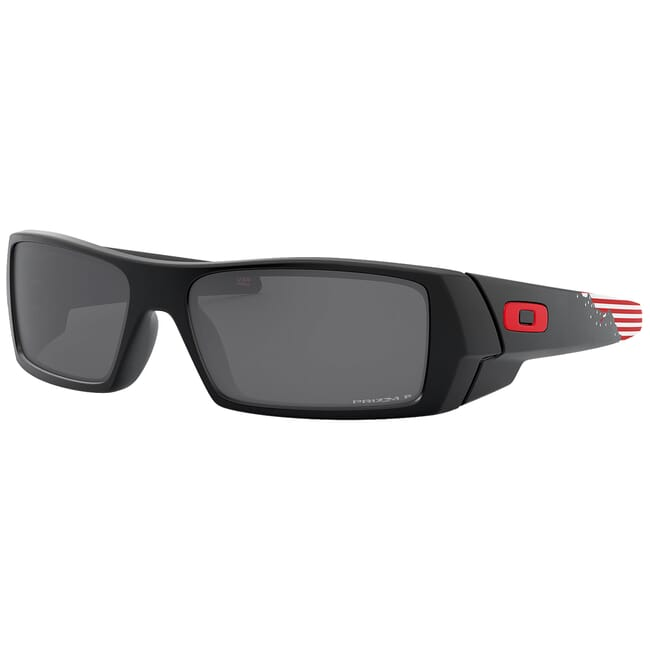 """Oakley SI Gascan American Heritage """"Stars and Stripes"""" w/PRIZM Black Polarized Lenses OO9014-6360"""