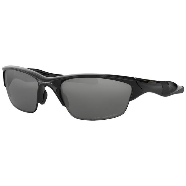 Oakley Half Jacket 20 Polished Black w/Black Iridium Polarized Lenses OO9144-04