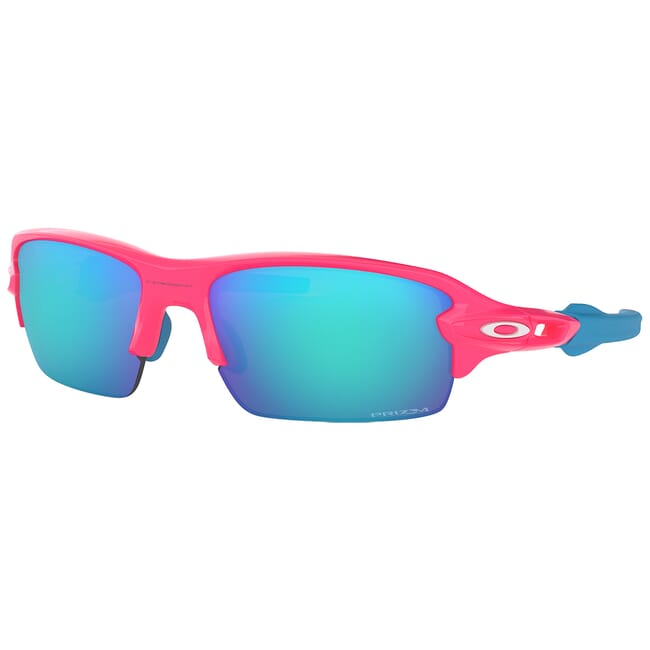 Oakley Flak XS Neon Pink w/PRIZM Sapphire Lenses OJ9005-0359