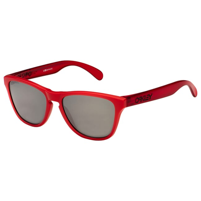 Oakley Frogskins XS Matte Red/Transluscent Red w/PRIZM Black Lenses OJ9006-0853