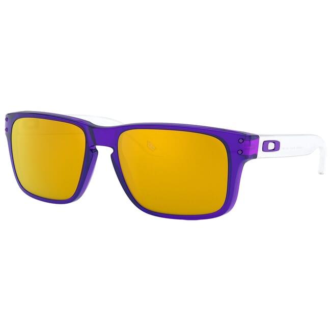 Oakley Holbrook XS Transluscent Purple w/24K Iridium Lenses OJ9007-0653