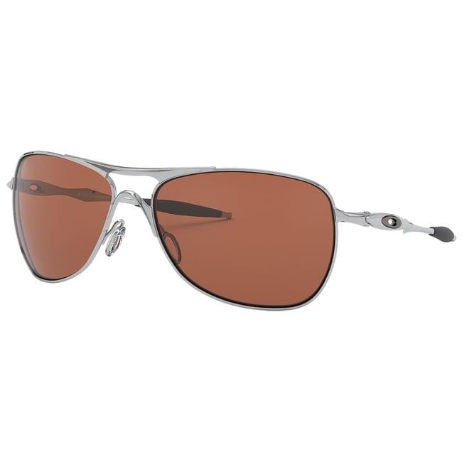 Oakley Crosshair Chrome w/VR28 Black Iridium Lenses OO4060-02