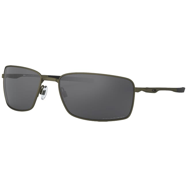 Oakley Square Wire Carbon w/Grey Polarized Lenses OO4075-04