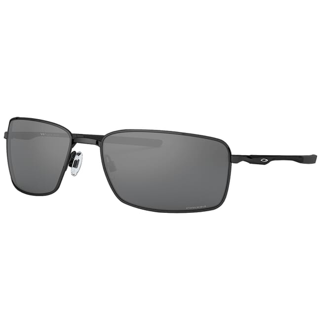 Oakley Square Wire Polished Black w/PRIZM Black Lenses OO4075-1360