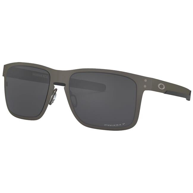 Oakley Holbrook Metal Matte Gunmetal w/PRIZM Black Polarized Lenses OO4123-0655