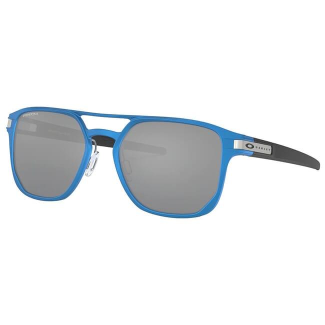 Oakley Latch Alpha Matte Sapphire Blue w/PRIZM Black Lenses OO4128-0353