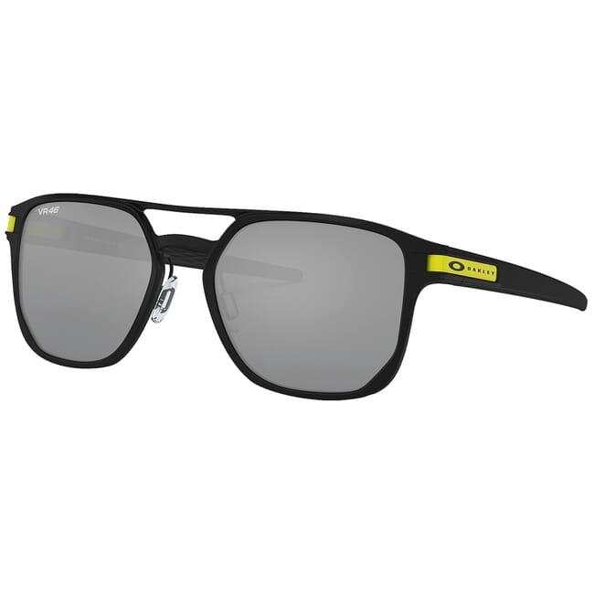 Oakley Latch Alpha VR46 Matte Black w/PRIZM Black Lenses OO4128-0853