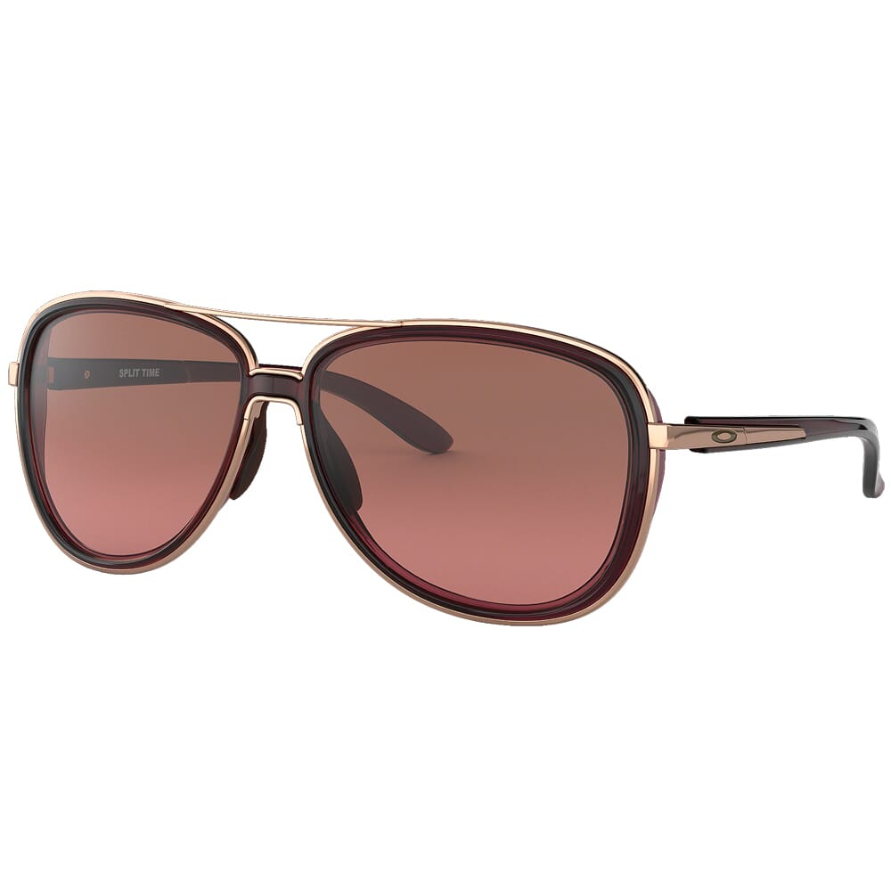 Oakley Split Time Crystal Raspberry w/G40 Black Gradient Lenses OO4129-0258