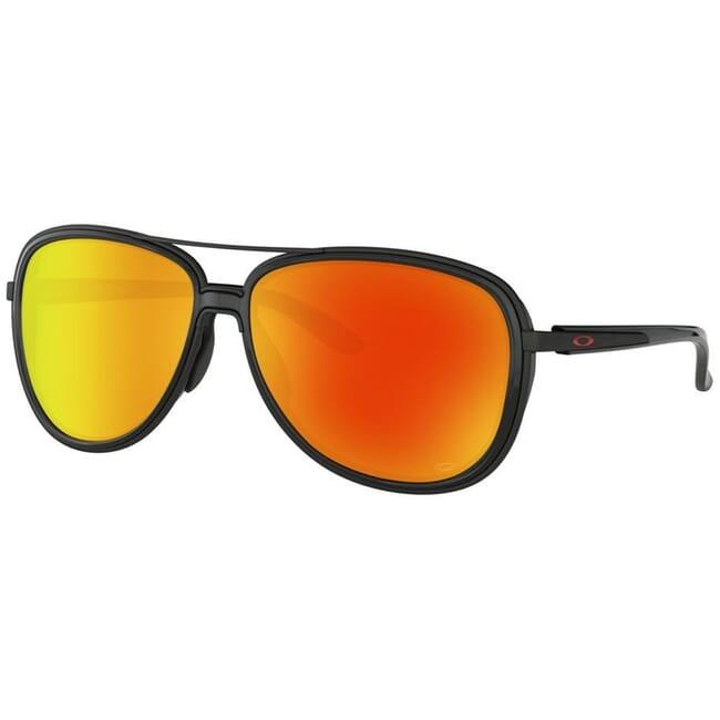 Oakley Split Time Matte Black w/PRIZM Ruby Lenses OO4129-0458