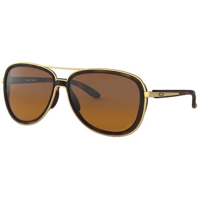Oakley Split Time Brown Tortoise w/Brown Gradient Polarized Lenses OO4129-0658