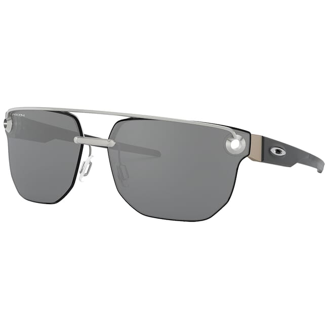 Oakley Chrstyl Satin Chrome w/PRIZM Black Lenses OO4136-0567