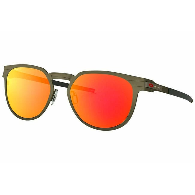Oakley Diecutter Pewter w/PRIZM Ruby Lenses OO4137-0255