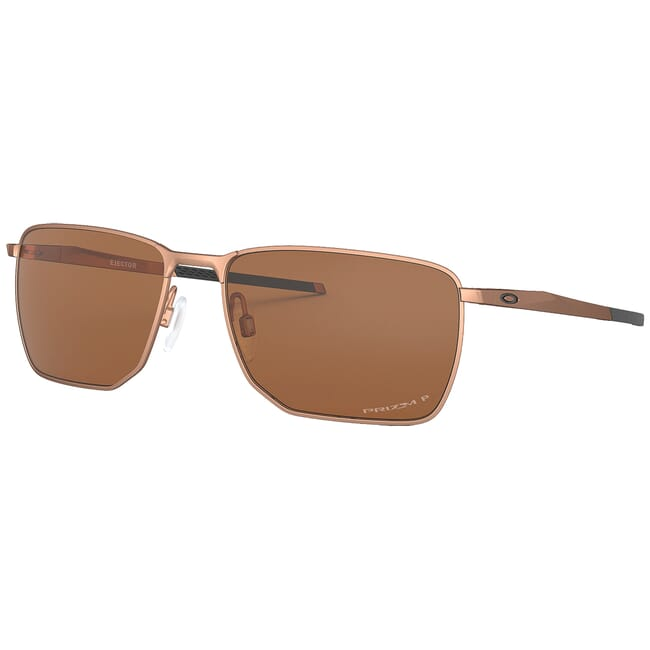 Oakley Ejector Satin Rose Gold w/PRIZM Tungsten Polarized Lenses OO4142-0558