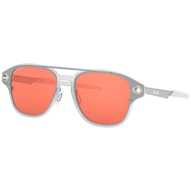 Oakley Coldfuse Polished Chrome w/PRIZM Peach Lenses OO6042-0252
