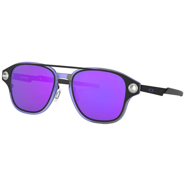 Oakley Coldfuse Matte Black w/Violet Iridium Polished Lenses OO6042-0652